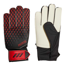 adidas Predator 20 Junior Training Goalkeeping Gloves Black / Red 3, Black / Red, rebel_hi-res