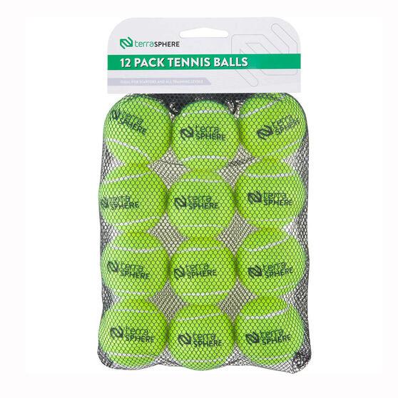 Terrasphere Tennis Balls 12 Pack, , rebel_hi-res