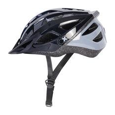 Goldcross Defender Bike Helmet Black M, Black, rebel_hi-res
