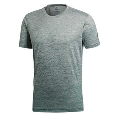 adidas Mens Freelift Gradient Tee Silver S, Silver, rebel_hi-res