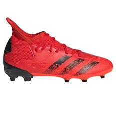 adidas Predator Freak .3 Kids Football Boots Red US 11, Red, rebel_hi-res