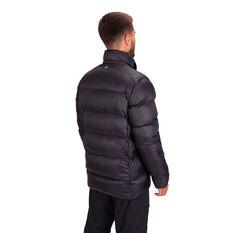 Macpac Mens Sundowner Hooded Jacket Black S, Black, rebel_hi-res