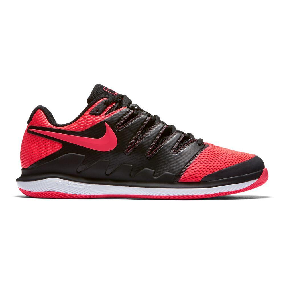 Nike Air Zoom Vapor X Mens Tennis Shoes Black   Red US 7  e0831c9753c