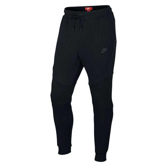Nike Mens Sportswear Tech Fleece Jogger Pants, Black, rebel_hi-res