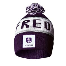 Freemantle Dockers Bar Beanie, , rebel_hi-res