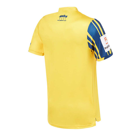 Central Coast Mariners 2019/20 Mens Home Jersey, Gold, rebel_hi-res