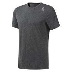 Reebok Mens CrossFit Performance Blend Tee Grey XS, Grey, rebel_hi-res