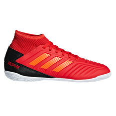 adidas Predator Tango 19.3 Kids Indoor Soccer Shoes Red / Black US 11, Red / Black, rebel_hi-res