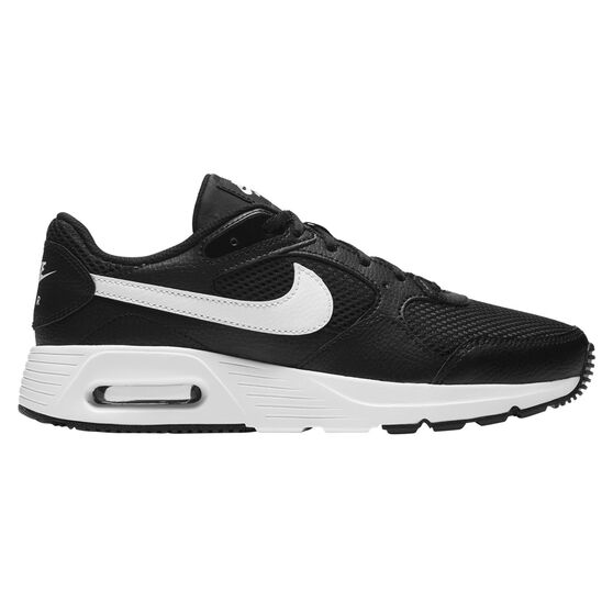 Nike Air Max SC Womens Casual Shoes, Black/White, rebel_hi-res