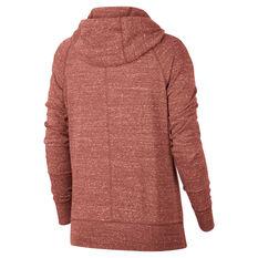 Nike Sportswear Womens Gym Vintage Hoodie Pink XS, Pink, rebel_hi-res
