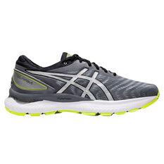 Asics GEL Nimbus 22 Lite Show Mens Running Shoes Black / Silver US 7, Black / Silver, rebel_hi-res