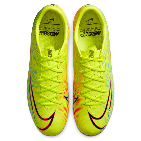 Nike Mercurial Vapor VII Academy MDS Football Boots, Yellow/Black, rebel_hi-res