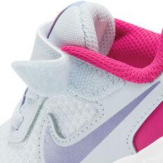 Nike Revolution 5 Toddlers Shoes, Grey/Purple, rebel_hi-res
