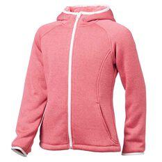 Tahwalhi Girls Shepard Full Zip Hoodie Pink 4, Pink, rebel_hi-res