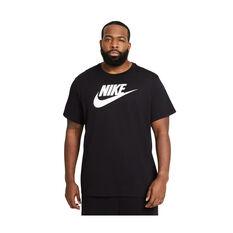 Nike Mens Sportswear Icon Futura Tee Black XS, Black, rebel_hi-res