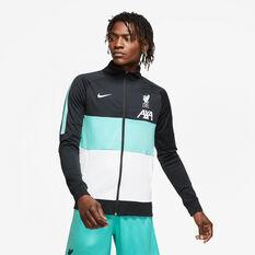 Liverpool FC 2020/21 Mens I96 Anthem Jacket Black S, Black, rebel_hi-res