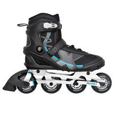 Goldcross 300 Inline Skates Black US 7, Black, rebel_hi-res