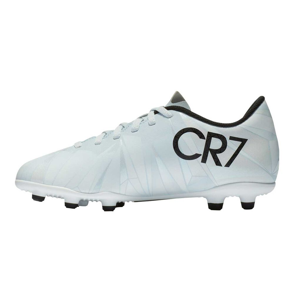 2ea6fb43aba3 Nike Mercurial Vortex III CR7 Junior Football Boots Black / White US 1  Junior, Black