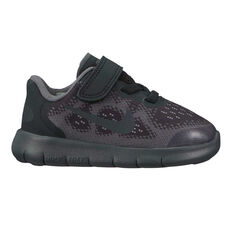Nike Free RN 2017 Toddlers Shoes Black / Grey US 3, Black / Grey, rebel_hi-res