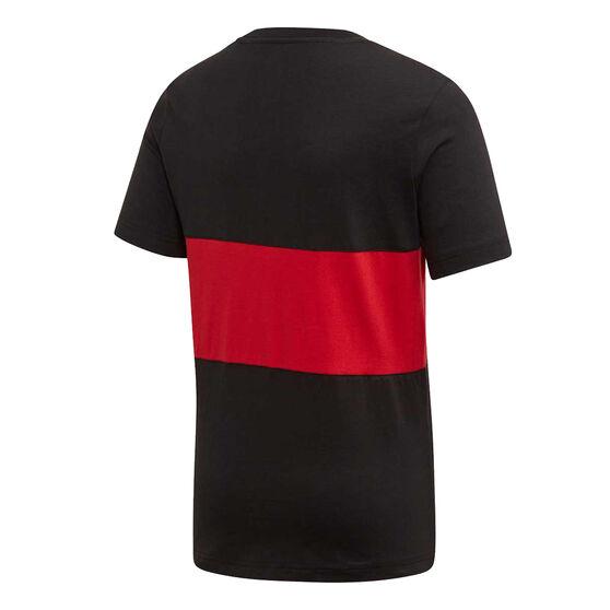 Manchester United 2019/20 Kids Tee, Black / Red, rebel_hi-res