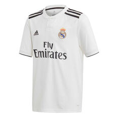 56a7b6bf96 Real Madrid FC 2018   19 Kids Home Jersey