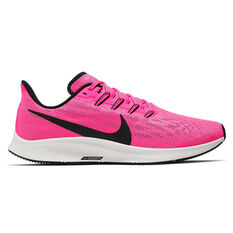 Nike Air Zoom Pegasus 36 Mens Running Shoes Pink / Grey US 7, Pink / Grey, rebel_hi-res