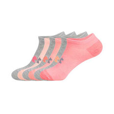 Under Armour Womens Solid No Show Socks, , rebel_hi-res