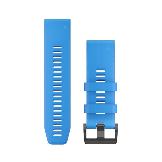 Garmin QuickFit 26mm Cyan Blue Adjustable Watch Band, , rebel_hi-res