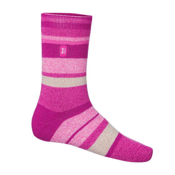 Heat Holders Womens Stripe Lite Socks US 4 - 8, , rebel_hi-res