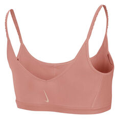 Nike Womens Yoga Luxe Indy Light Support Sports Bra, Pink, rebel_hi-res