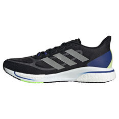 adidas Supernova+ Mens Running Shoes Black/Silver US 7, Black/Silver, rebel_hi-res