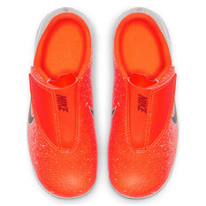 Nike Mercurial Vapor XII Club Kids Football Boots Red / Black US 10, Red / Black, rebel_hi-res