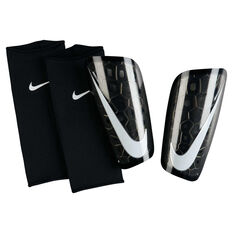 Nike Mercurial Lite Shin Guards Black / White S, Black / White, rebel_hi-res