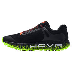 Under Armour HOVR Machina Off Road Mens Trail Running Shoes Black/Yellow US 7, Black/Yellow, rebel_hi-res