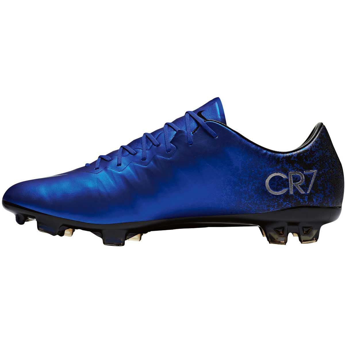 e57f282274b4 ... ireland nike mercurial vapor x cr7 mens football boots blue silver us 8  adult blue db067