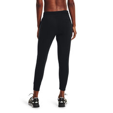 Under Armour Womens UA Rival Fleece Mesh Pants Black XS, Black, rebel_hi-res