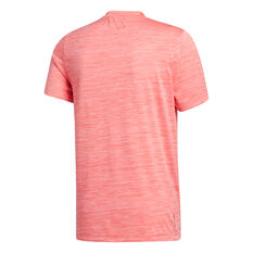 adidas Mens Axis Tech Tee Red M, Red, rebel_hi-res