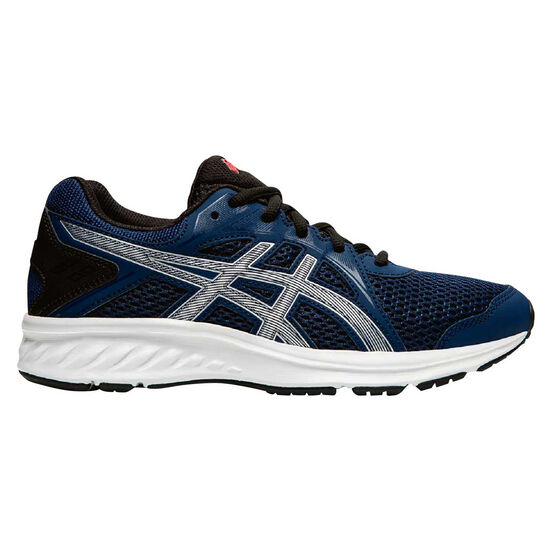 Asics Jolt 2 Kids Running Shoes, Navy / Silver, rebel_hi-res