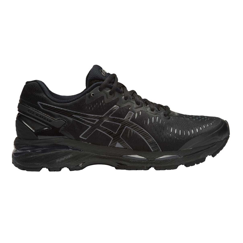 f4d5e40dde48 Asics Gel Kayano 23 Mens Running Shoes Black US 7
