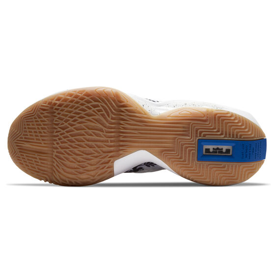 Nike LeBron Soldier XIV Mens Basketball Shoes, Black/White, rebel_hi-res