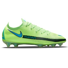 Nike Phantom GT Elite Football Boots Green/Blue US Mens 5 / Womens 6.5, Green/Blue, rebel_hi-res