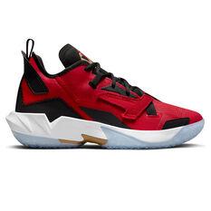 Jordan Why Not Zer0.4 Basketball Shoes Red US 7, Red, rebel_hi-res