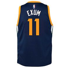 Nike Utah Jazz Dante Exum Icon Kids Swingman Jersey College Navy S, College Navy, rebel_hi-res