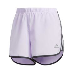 adidas Womens Marathon 20 Running Shorts Purple XS, Purple, rebel_hi-res