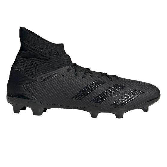 adidas Predator 20.3 Football Boots, Black, rebel_hi-res