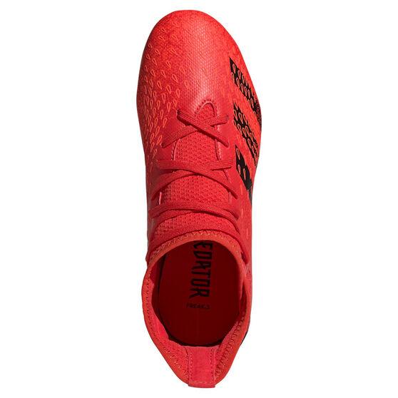adidas Predator Freak .3 Kids Football Boots, Red, rebel_hi-res