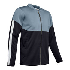 Under Armour Mens Recover Knit Warm-Up Jacket Grey S, , rebel_hi-res