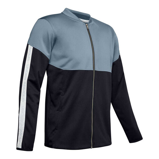Under Armour Mens Recover Knit Warm-Up Jacket, , rebel_hi-res