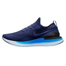 Nike Epic React Flyknit 2 Mens Running Shoes Blue / Indigo US 7, Blue / Indigo, rebel_hi-res