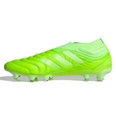 adidas Copa 20+ Football Boots Green US Mens 5 / Womens 6, Green, rebel_hi-res